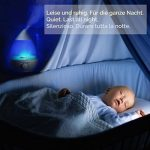 2,4 litre Humidificateur d'air bebe, chambre bebe Humidificateur Ultrasonique avec filtre (jusqu'à 35 m²), Électrique Brume Fraîche Humidificateur d'air, silencieux avec 7 Couleurs Lumières LED, Waterdrop de la marque InnoBeta image 2 produit