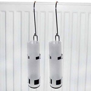 2Lissek Atomiseur Humidificateur de radiateur chauffage, en acier inoxydable et verre de la marque Lissek image 0 produit