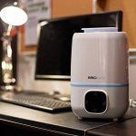 3,0litre Humidificateur bébé silencieux (jusqu'à 45 m²), Humidificateur d'air bebe Ultrasonique Radiateur, contrôle niveau de brume, 4 Réglages de Temps et Arrêt Automatique, pour la maison, Yoga, Bureau, Chambre, Fountain de la marque InnoBeta image 4 produit