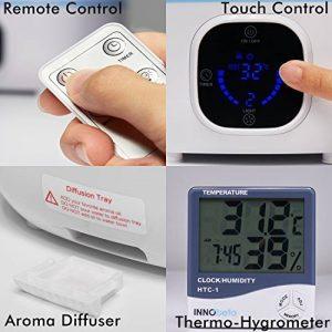 3,0litre Humidificateur bébé silencieux (jusqu'à 45 m²), Humidificateur d'air bebe Ultrasonique Radiateur, contrôle niveau de brume, 4 Réglages de Temps et Arrêt Automatique, pour la maison, Yoga, Bureau, Chambre, Fountain de la marque InnoBeta image 0 produit