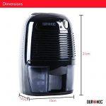 'Duronic DH05 Mini Déshumidificateur d'air électrique noir 250 ml / jour - Idéal pour petits espaces de la marque Duronic image 3 produit