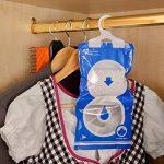 4 | 6 | 8 sachets déshumidifiant parfumé pour armoire |MY DEHUMIDIFIER FOR WARDROBE | anti humidité et moisissure | absorbeur d'humidité pour caravanes, garde-robe, sécher à sec | 4 pièce de la marque MY TO image 1 produit