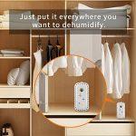 Absorbeur d'Humidité hysure Rechargeable Mini Déshumidificateur Mural, Idéal pour les placards à chaussures, les cabinets, les salles de bain de la marque hysure image 4 produit
