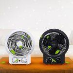 Aigostar Airwin Black 33IEL - Chauffage soufflant, radiateur et ventilateur de 2000W avec régulateur de température et de puissance. Protection contre la surchauffe. Couleur noir. Design exclusif. de la marque Aigostar image 5 produit