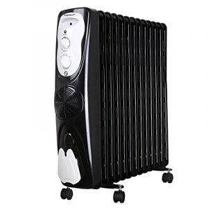 Aigostar Protector 33JHG – Radiateur à bain d'huile portable. 13 éléments, 2800 W. Chauffe en toute sécurité grâce à son système d'air chaud et son thermostat réglable. Design exclusif. de la marque Aigostar image 0 produit