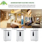 AIRPLUS Déshumidificateur Electrique d'Air Compact 2.5L pour l'Humidité et les Moisissures à la Maison, pour Cuisine, Chambre, Caravane, Bureau, Garage de la marque AIRPLUS image 3 produit