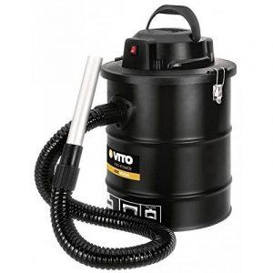 Aspirateur souffleur de cendres 1000W 18L + Filtre HEPA Poêles cheminées et barbecues de la marque VITO Pro-Power image 0 produit