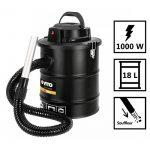 Aspirateur souffleur de cendres 1000W 18L + Filtre HEPA Poêles cheminées et barbecues de la marque VITO Pro-Power image 1 produit