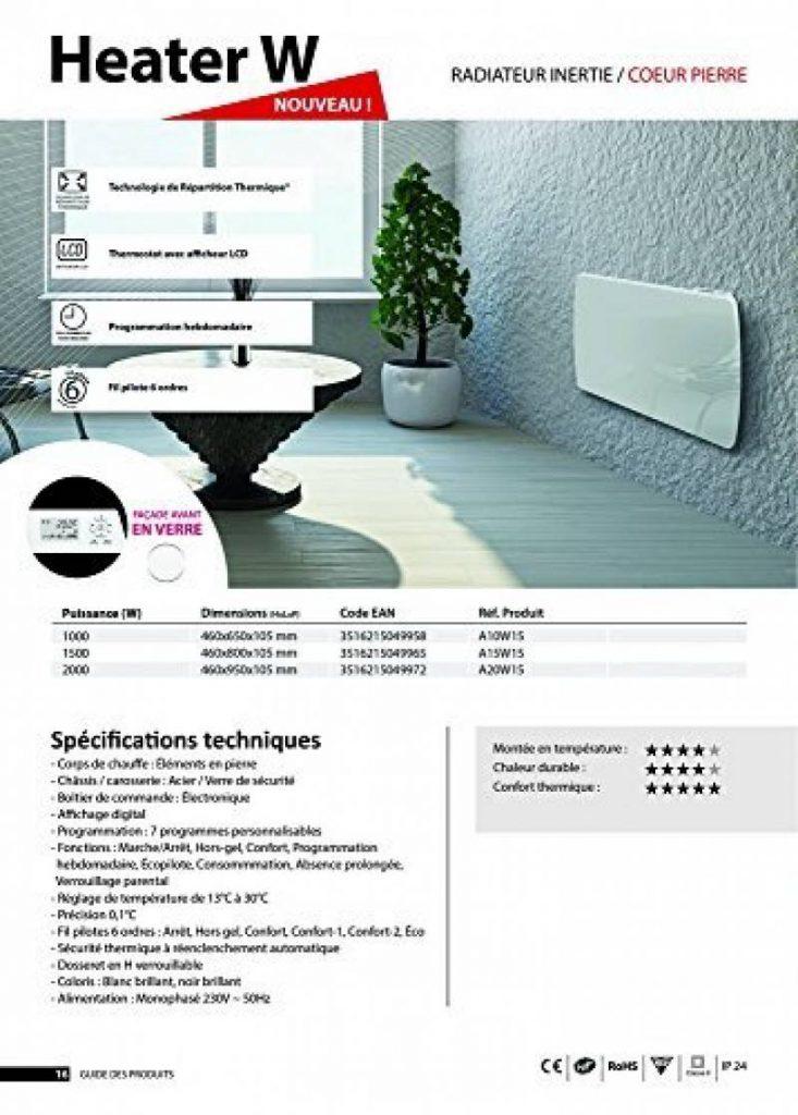 radiateur cayenne indiana sur radiateur inertie cayenne cramique clia w chauffage achat prix. Black Bedroom Furniture Sets. Home Design Ideas