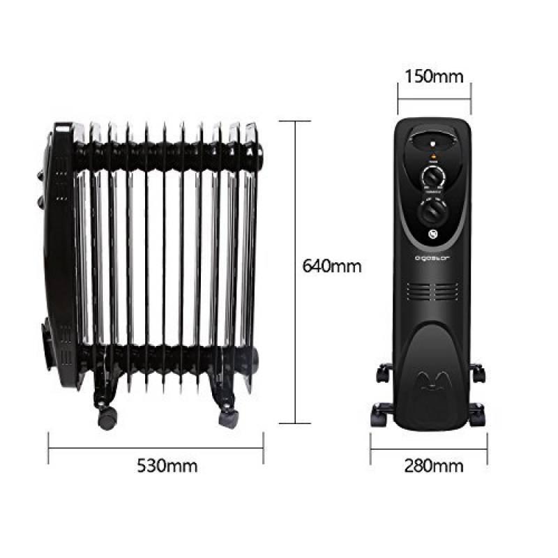 chauffage bain d huile great kh radiateur bain duhuile w. Black Bedroom Furniture Sets. Home Design Ideas