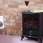 Cheminée électrique avec effet à bois de chauffage avec thermostat chauffe - 1000W/2000W de la marque Kenley image 3 produit