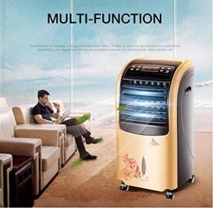 Climatiseur de 30 po, 4-en-1, chauffe-eau de 2000 W + refroidisseur de 80 W + ventilateur + humidificateur, climatiseur multifonctionnel pour la maison, bureau de la marque L&R Radiateur image 0 produit