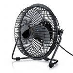 CSL - Ventilateur USB | ventilateur de bureau / Fan | cadre en métal / pales en plastique | pour ordinateur / ordinateur portable | noir de la marque CSL-Computer image 1 produit