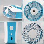 D-FantiX Ventilateur Portatif Portable Ventilateur à eau Misting Humidificateur Personnel Ventilateur pour la Beauté, la Maison, le Bureau et les Voyages (Bleu) de la marque D-FantiX image 4 produit