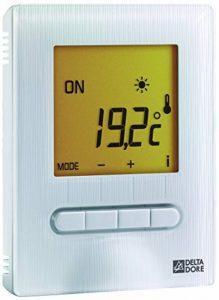 Delta Dore 6151055 Minor 12 Thermostat digital pour plancher ou plafond rayonnant de la marque Delta Dore image 0 produit