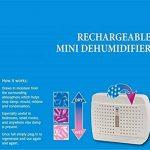 Déshumidificateur électrique silencieux d'air déshydratant sans fil portatif rechargeable d'air de mini déshumidificateur pour le bureau de pièce et la garde-robe à la maison de la marque L&R Déshumidificateur image 1 produit
