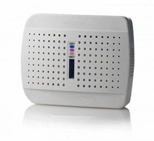 Déshumidificateur électrique silencieux d'air déshydratant sans fil portatif rechargeable d'air de mini déshumidificateur pour le bureau de pièce et la garde-robe à la maison de la marque L&R Déshumidificateur image 0 produit