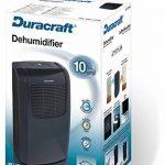 Duracraft DD-TEC10NE Déshumidificateur 10 L/24 h de la marque Duracraft image 1 produit
