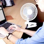 Duronic FN15 Ventilateur personnel de bureau 2 en 1 avec fixation et socle – Idéal pour le bureau de la marque Duronic image 4 produit