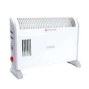 Duronic HV120 Radiateur soufflant / Chauffage d'appointavec fonction Turbo – Convecteur avec ventilateur turbo (750W, 1250W ou 2000W) de la marque Duronic image 0 produit
