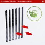 Duronic HV120 Radiateur soufflant / Chauffage d'appointavec fonction Turbo – Convecteur avec ventilateur turbo (750W, 1250W ou 2000W) de la marque Duronic image 4 produit