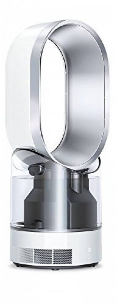 best loved bc809 a87a1 Dyson AM10 Humidificateur et Ventilateur Technologie Air Multiplier Garantie  2 ans Blanc Argent de la marque Dyson