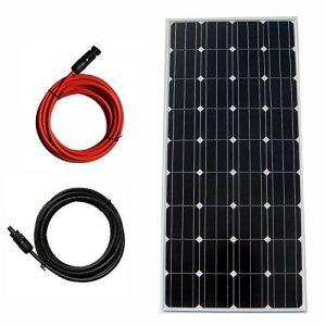 eco-worthy 160W 12V KIT Panneau Solaire PV Mono W/Extension Câble MC4Off Grille Système RV Bateau de la marque ECO-WORTHY image 0 produit