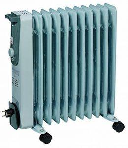 Einhell radiateur à bain d'huile MR 1125/2(2500W, 3niveaux de chauffe, thermostat, 4roulettes pivotantes, enrouleur de câble pratique, poignée intégrée) de la marque Einhell image 0 produit