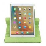 elecfan® Étui de protection rotatif 360° Motif floral PU étui en cuir pour iPad, vert, iPad Pro 9.7 de la marque elecfan image 5 produit