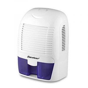 Excelvan Mini Déshumidificateur d'Air Portable Sécheur d'Air 50/60Hz pour Maison Salle de Bain Cuisine Garage Voiture Humide Ect (1.5L) de la marque Excelvan image 0 produit