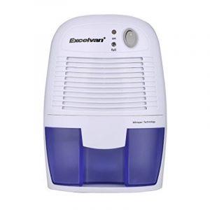 Excelvan Mini Déshumidificateur d'Air Portable Sécheur d'Air pour Maison Salle de Bain Cuisine Garage Voiture Humide Ect (500ML) de la marque Excelvan image 0 produit