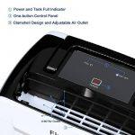 Finether 12L / D Déshumidificateur d'Air Intelligent de Contrôle Numérique Silencieux Compact Faible Consommation Drainage Continu Humidité Maison de la marque Finether image 2 produit