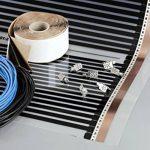 Heating floor - 20m2 Kit de électrique Chauffage au Sol Film Chauffant sous Parquet, Bois ou Stratifé 220W/m2 de la marque Heating Floor image 1 produit