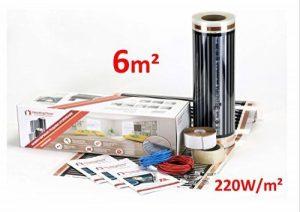 Heating floor - 6m2 Kit de Chauffage éléctrique au Sol Film Chauffant sous Parquet, Bois ou Stratifé 220W/m2 de la marque Heating Floor image 0 produit