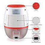 HOMASY 22W Mini Déshumidificateur Portable Sécheur d'Air Silencieux pour 20 m² de la marque HOMASY image 3 produit