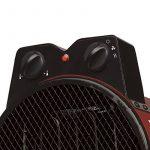 Honeywell HH503E Radiateur Soufflant Professionnel Rouge/Chrome de la marque Honeywell image 2 produit