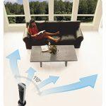 Honeywell HO5500RE Ventilateur Tour Oscillant avec télécommande de la marque Honeywell image 3 produit