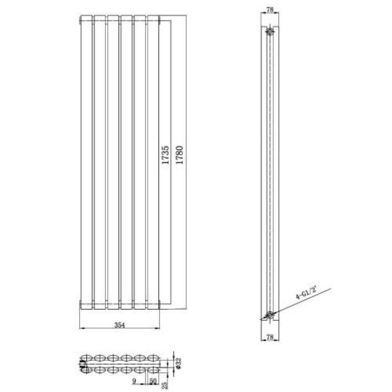 radiateur vertical pour chauffage central pour 2018 faire une affaire chauffage et. Black Bedroom Furniture Sets. Home Design Ideas