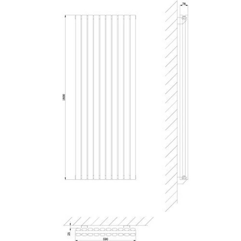 radiateur vertical noir top 5 pour 2019 chauffage et. Black Bedroom Furniture Sets. Home Design Ideas