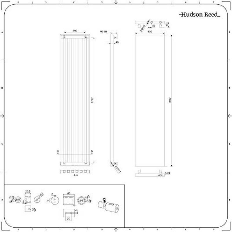 radiateur 40 cm radiateur chauffage central tesi noir cm. Black Bedroom Furniture Sets. Home Design Ideas