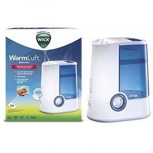 Humidificateur d'air chaud WICK pour bien-être du bébé blanc de la marque Wick image 0 produit
