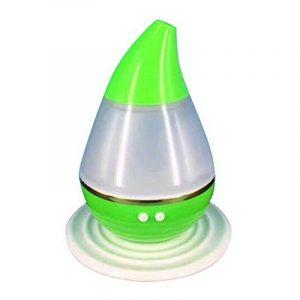 Humidificateur d'air ultrasonique électrique - 250 ml Humidificateurs humides Cool Humidificateurs Diffuseur portable Water-drop Huiles aromatiques Parfum Purificateur d'air pour la maison, chambre pour bébé, bureau, yoga, spa, chambre à coucher G image 0 produit