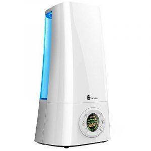 Humidificateur Ultrasonique à Brume Froide TaoTronics (Grande Capacité de 5L, Sortie Réglable, Buse Rotative à 360 Degrés, Afficheur à LED, Minuterie Automatique, Mode Veille) de la marque TaoTronics image 0 produit