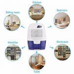 JOYOOO ultra-silencieux maison portable 500 ml mini déshumidificateur, pour salle de bain, chambre à coucher, buanderie, garage, bureau et cuisine, etc. de la marque JOYOOO image 1 produit