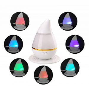 KEJEA 250ML USB Humidificateur à ultrasons coloré Diffuseur aromatique, diffuseur d'huile essentielle Aromathérapie Humidificateur anti-brouillard pour maison, yoga, bureau, spa, chambre à coucher, salle de bébé de la marque KEJEA image 0 produit