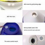 KEJEA 250ML USB Humidificateur à ultrasons coloré Diffuseur aromatique, diffuseur d'huile essentielle Aromathérapie Humidificateur anti-brouillard pour maison, yoga, bureau, spa, chambre à coucher, salle de bébé de la marque KEJEA image 2 produit