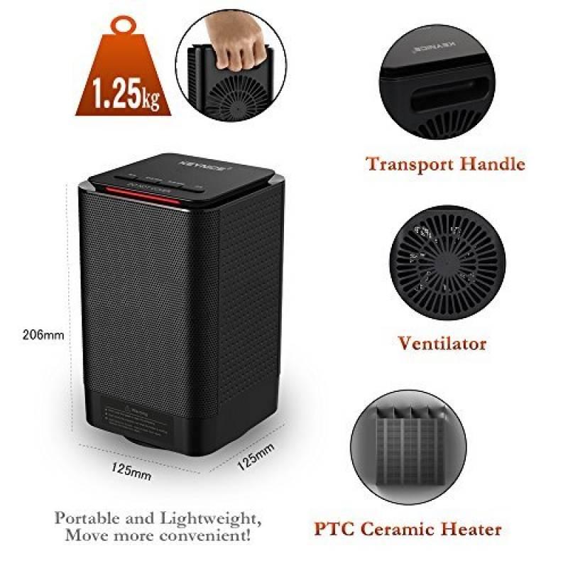 chauffage d appoint avec thermostat perfect chauffage electrique economique radiateur a inertie. Black Bedroom Furniture Sets. Home Design Ideas