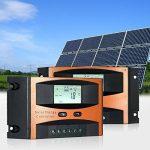 KKmoon 12V/24V Régulateur/Contrôleur de Charge Solaire Intelligent LCD Affichage, PWM Charge Surcharge Protection et Compensation de Température, Système Hors-réseau Solaire-ORANGE 25A de la marque KKmoon image 2 produit