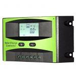 KKmoon Contrôleur de charge de panneau solaire 25 a 12V/24V PWM charge température Compensation surcharge Protection LCD affichage solaire hors réseau système de la marque KKmoon image 4 produit