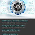 KKUP2U Déshumidificateur Electrique 700ML Réservoir d'eau pour la Cuisine, Chambre, Salle de Bains, Toilette, Barque, Cave, Cabinet (10-20 ㎡) de la marque KKUP2U image 6 produit